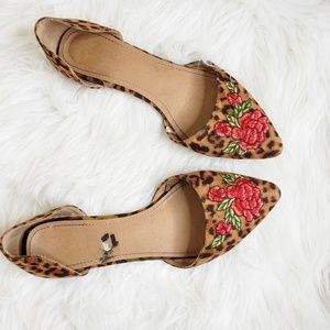 Report Leopard & Rose Sycamore D'Orsay Flats